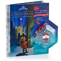 Hallmark Find Me Santa Snowflake w/ Once Upon a Northpole Christmas Book - $19.99