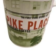 Starbucks Coffee Mug 1999 Pike Place market First Store Opened 1971 20 o... - $16.82