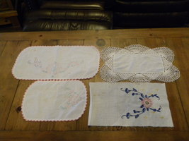 set of vintage hand made items - $5.00