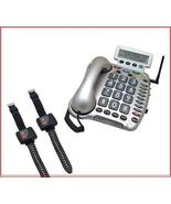 EMERGENCY MEDICAL ALERT SYSTEM w/2 WRIST PANIC BUTTONS WATER - $169.99