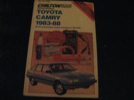 Toyota Camry 1983-88 Repair Manual 1988 Chilton's Part No: 7740 - $12.99