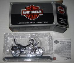 1993 FLSTC Heritage Softail Nostalgia 1:18 Die Cast Metal Harley Davidso... - $29.99