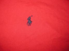 Vintage Polo Ralph Lauren T-Shirt Red Short Sleeve XL Blue Pony - $29.99