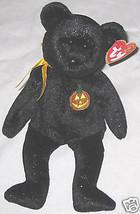"Black 8"" Beanie Baby ""Ty Haunt"" October Teddy Bear  - $8.24"