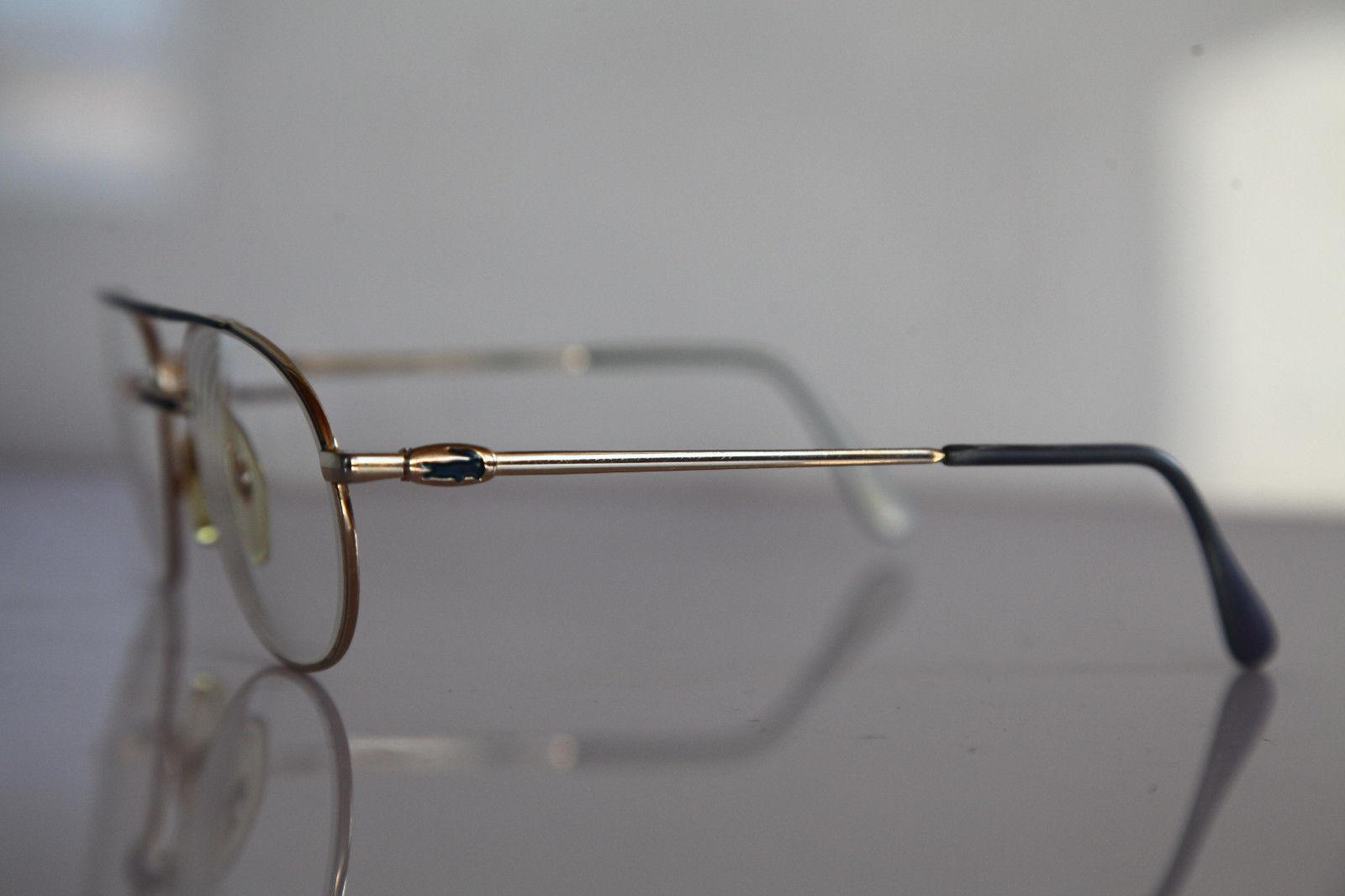 Vintage LACOSTE Eyewear, Gold Frame,  RX-Able Prescription lens.