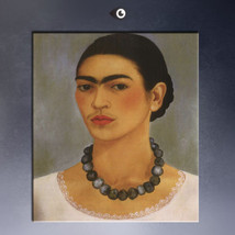 """Frida Kahlo """"Self portrait with necklace"""" HD print on canvas wall pictur... - $25.73"""
