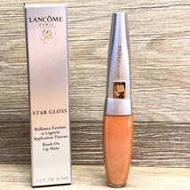 ^ LANCOME STAR GLOSS BRUSH-ON LIP SHINE 'COSMIC GIRL' FULL SIZE NIB RARE - $12.95