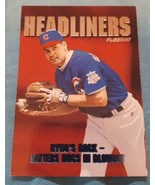 1997 Fleer Headliners Chicago Cubs Baseball Card #18 Ryne Sandberg - $1.00