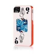 Kate Spade Play Your Cards Right Queen Hybrid Hardshell iPhone 4/4s Case... - £23.29 GBP
