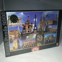 Educa Europe Collage 2000 pc Jigsaw Puzzle 14122 Puzzle Passion Factory ... - $26.95