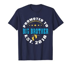 Brother Shirts - Promoted to Big brother 2018 T-Shirt Men - $19.95+