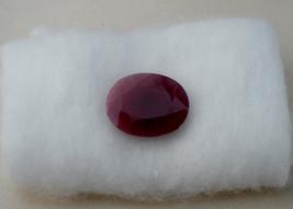 Ruby Oval loose gem 15 x 12mm - $17.99