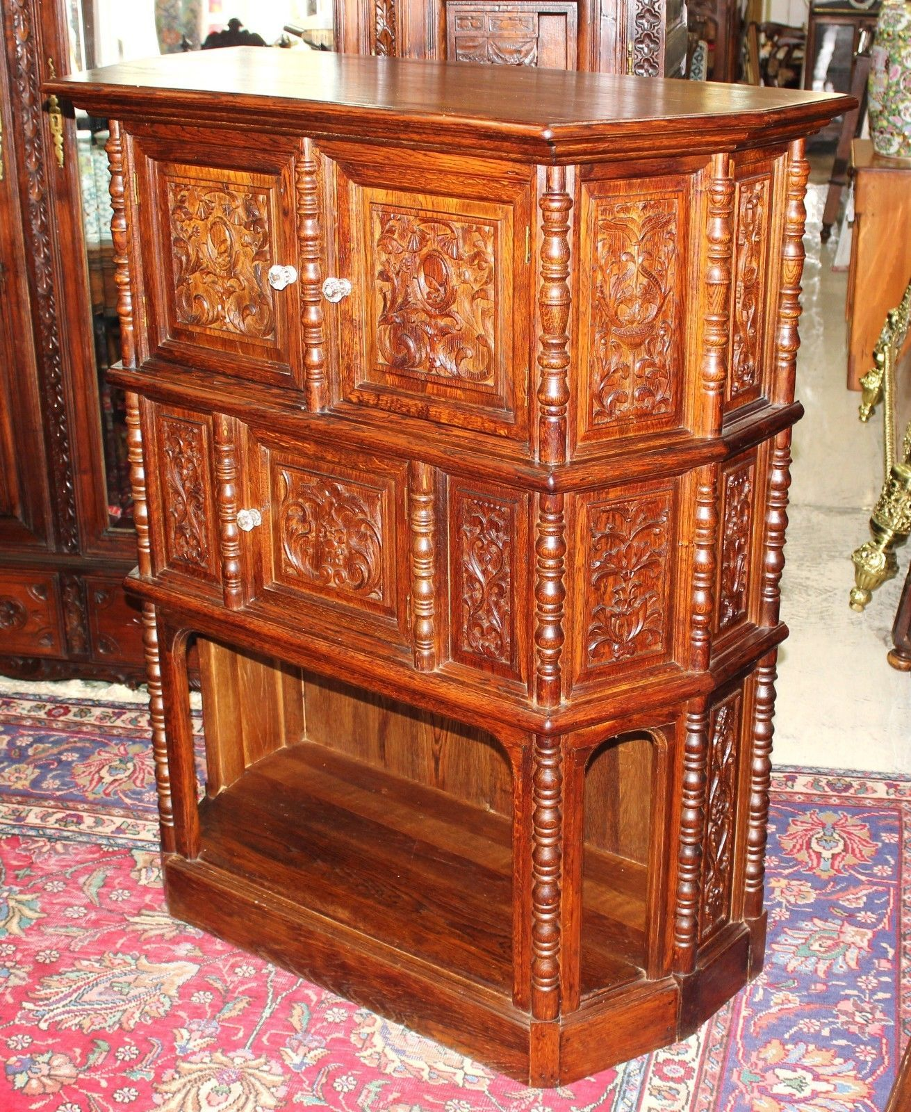 - Gorgeous French Antique Hall Cabinet / And 50 Similar Items