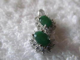 EMERALD PENDENT - £7.57 GBP
