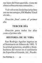 Novena en Honor a San Rodrigo Aguilar - L330.0023 image 2