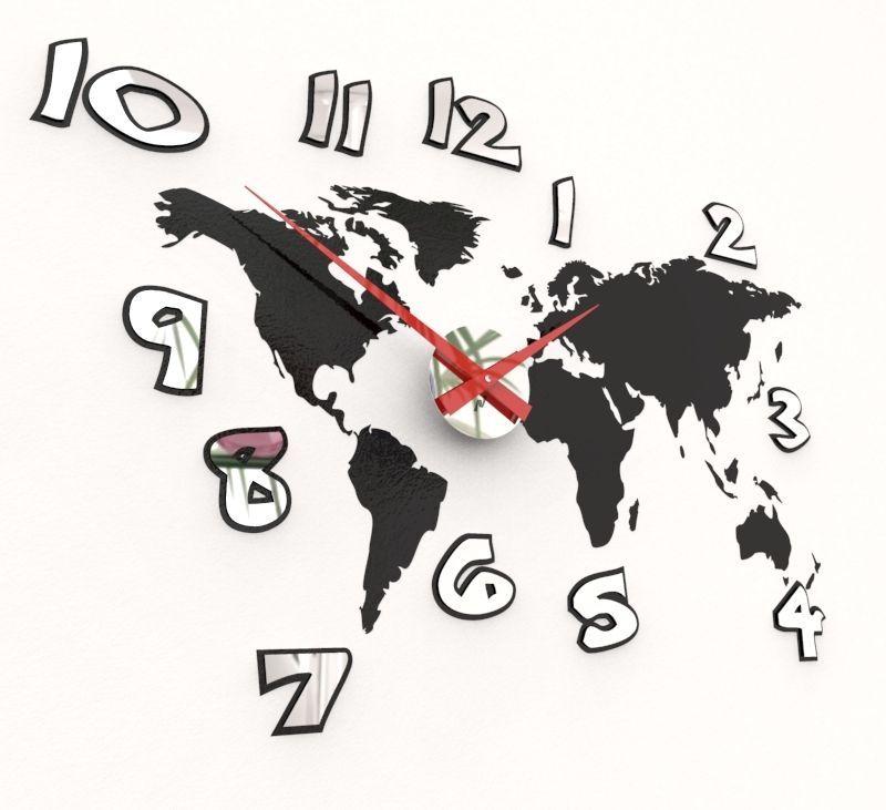 Horloge pendule murale d corative adh sive avec swarovski 17 couleur irj436 - Pendule decorative murale ...