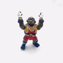 TMNT Donatello Powerlifting Don Turtle Games 1992 Figure Ninja Turtles P... - $9.19