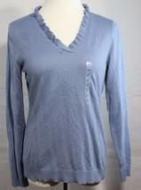 Anne Taylor petite women's sweater v neck long sleeve size LP - $18.11