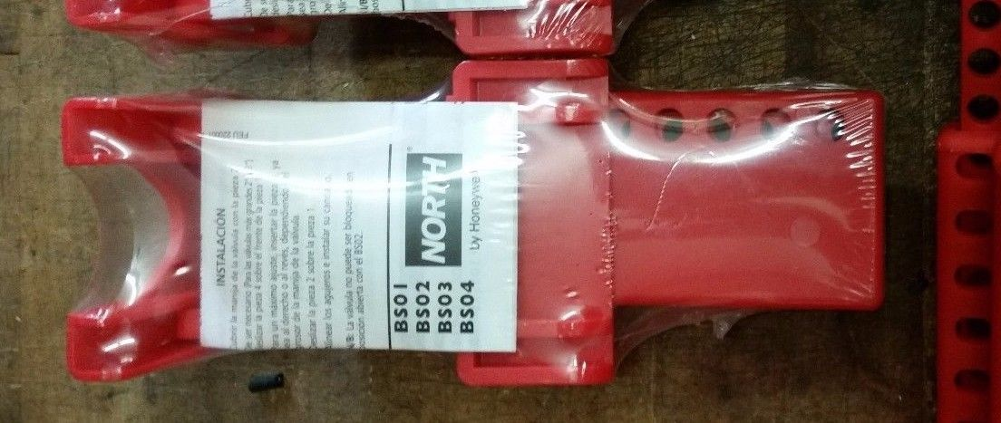 "NORTH BS02R Ball Valve safety lockout tagout 1.5""- 2.5"""