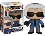 Flash TV: Captain Cold Funko POP Vinyl Figure *NEW*