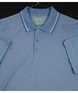 IZOD Performx Golf Polo Shirt Blue Short Sleeve Size XL VGUC - $12.97