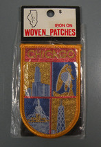 """Chicago Woven Patch  W-1 1/16"""" H-3"""" - $12.95"""