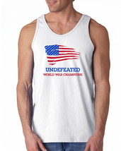 197 Undefeated World War Champs mens T-shirt america funny pride USA vin... - $16.00+