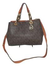 Michael Kors Handbag Cynthia Medium PVC Signatu... - $239.99