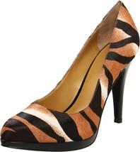Nine West Rocha Womens Pump- NWOB Size 8 M Zebra Animal Print Fur Stiletto Shoes - $65.22
