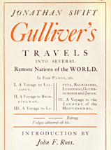 Gulliver's Travels By Jonathan Swift - $2.95