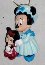 "Disney 2 1/2"" Minnie Mouse Figurine in Blue wit... - $9.05"