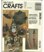 McCall's Sewing Pattern 3939 Halloween Autumn C... - $9.98