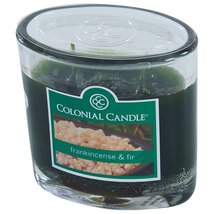 Colonial Candle Frankincense & Fir 3.5 oz. Jar Candle 2 wick - $8.00