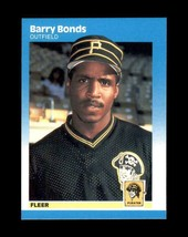 BARRY BONDS RC 1987 Fleer #604 (NR-MINT) Pittsburgh Pirates Baseball Spo... - $14.99