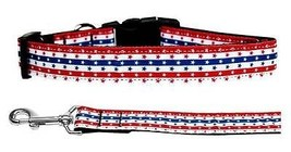 STARS IN STRIPES Dog Collar or Leash Patriotic American 4th of July Amer... - €10,38 EUR+