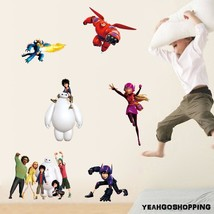 """One Big Hero 6 Wall Sticker Cartoon Character Removable - (36 """" X 12 """") image 2"""
