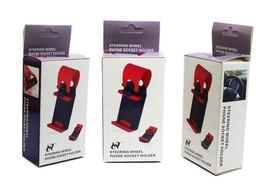 Universal Car Streeling Steering Wheel Cradle Holder SMART Clip Bike Mount image 4