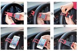 Universal Car Streeling Steering Wheel Cradle Holder SMART Clip Bike Mount image 9