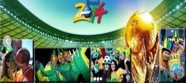 New the Vuvuzelas 2014 Brazil Football World Cup Fans Cheering Horn - One Piece image 7