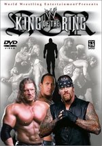 WWF: King of the Ring 2002 Pre-viewed DVD WWE Austin Brock oop out of print