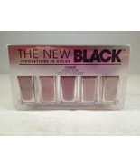 The New Black Ombre 5-Piece Nail Color Set Gypsy Rose polish lacquer - $19.83