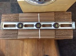 """Vintage HALL No. 224  LEVEL Cast Aluminum 24""""  USA tool Very Rare - $13.06"""