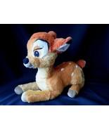 """Disney Store Exclusive Bambi Plush  14"""" Long Fawn Deer Stuffed - $14.65"""