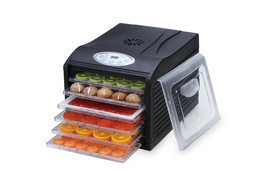 "Samson ""Silent"" 6 Tray Dehydrator with Digital Controls Quiet and Conven... - $129.95"