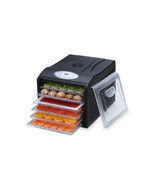 "Samson ""Silent"" 6 Tray Dehydrator with Digital Controls Quiet and Conven... - £93.51 GBP"