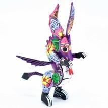 Handmade Alebrijes Oaxacan Wood Carving Painted Folk Art Dragon Figurine