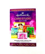 Hallmark Card Studio Deluxe 2013 Personalized Cards, Calendars, Scrapboo... - $26.17