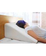 Bed Wedge Pillow 1.5 Inch Memory Foam Top, Cushy Form (25 x 24 x 12 Inch... - $102.02