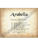 Arabella Hidden Within Your Name Is A Special S... - $8.95