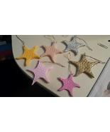 Summer Starfish Ornaments - $12.00